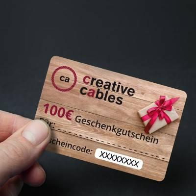 100 € Geschenkgutschein