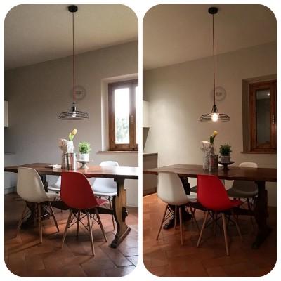 Be Creative - Der Sonar Lampenschirm in einer Küche