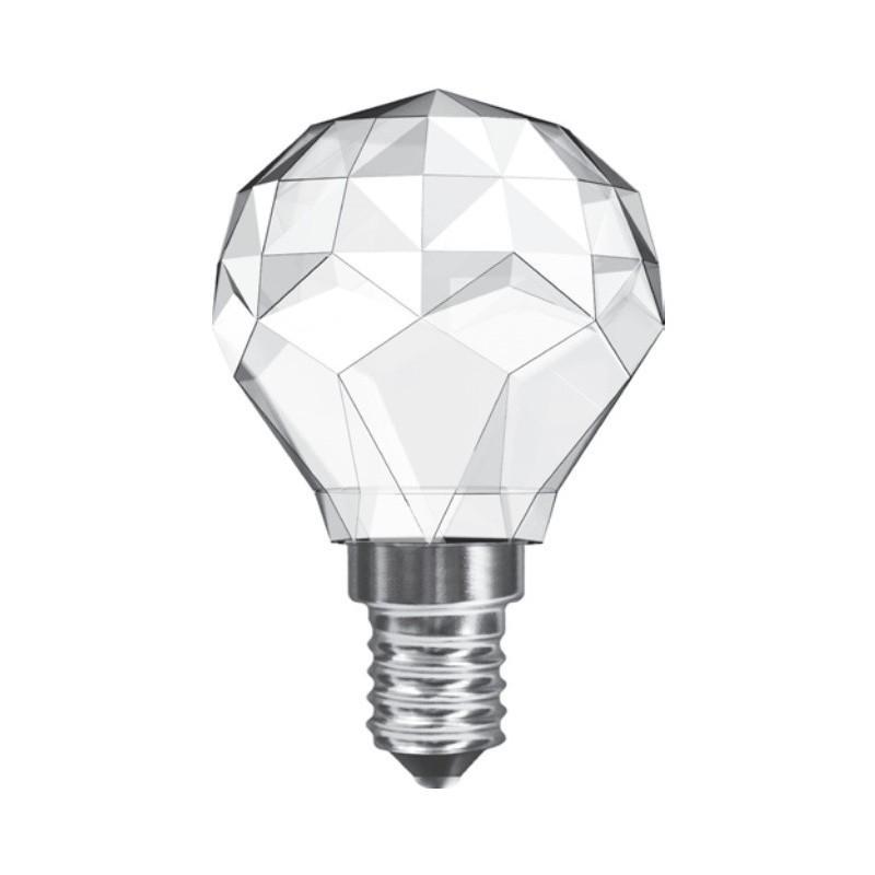 Leuci Sfera Crystal – dekorative LED Glühlampe