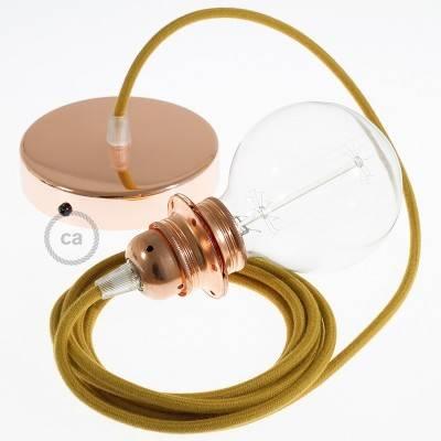 Pendel für Lampenschirm, Hängelampe Goldener Honig Baumwolle RC31