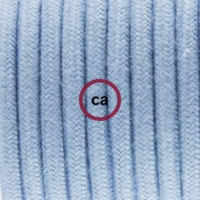 Porzellan Pendelleuchte, Hängelampe Ocean Baumwolle RC53