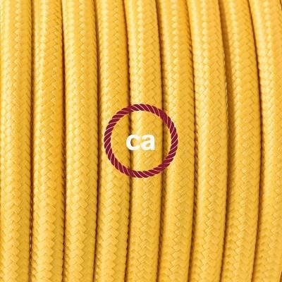 Porzellan Pendelleuchte, Hängelampe Gelb Seideneffekt RM10