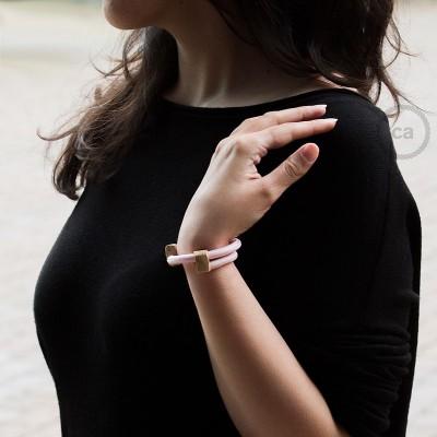 Textilarmband Farbe: Babyrosa Seideneffekt RM16 Verschluss: verstellbar