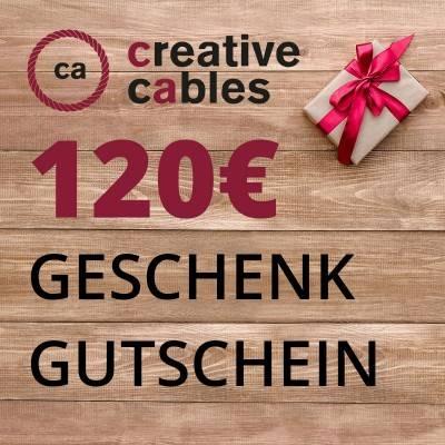 120 € Geschenkgutschein