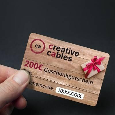 200 € Geschenkgutschein
