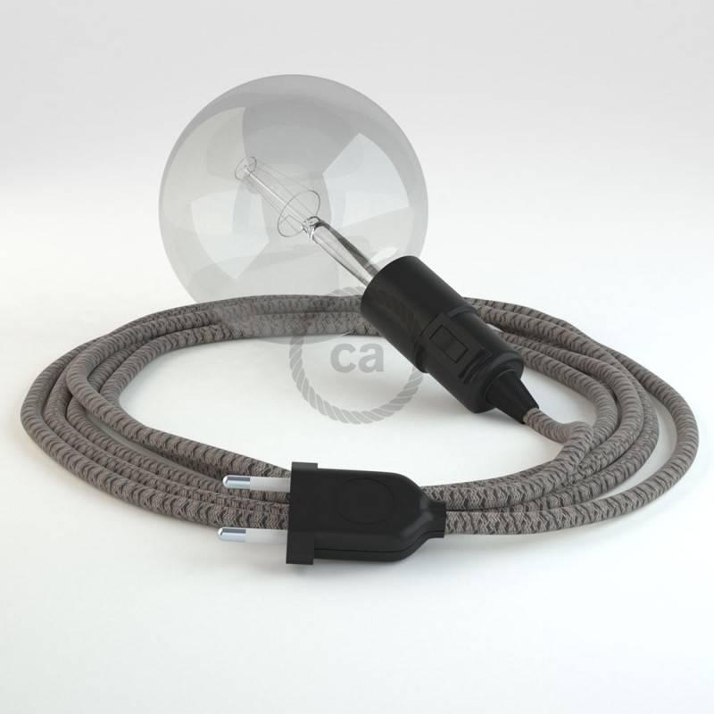Kreieren sie ihre Snake Leuchte mit dem RD64 Raute Antrazit und erleuchten sie ihre Umgebung.