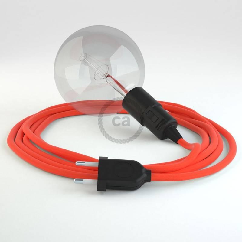 Kreieren sie ihre Snake Leuchte mit dem RF15 Orange Fluo und erleuchten sie ihre Umgebung.