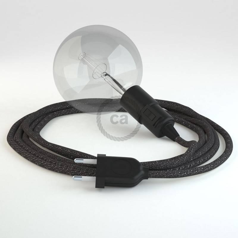 Kreieren sie ihre Snake Leuchte mit dem RL03 Geglittert Grau und erleuchten sie ihre Umgebung.