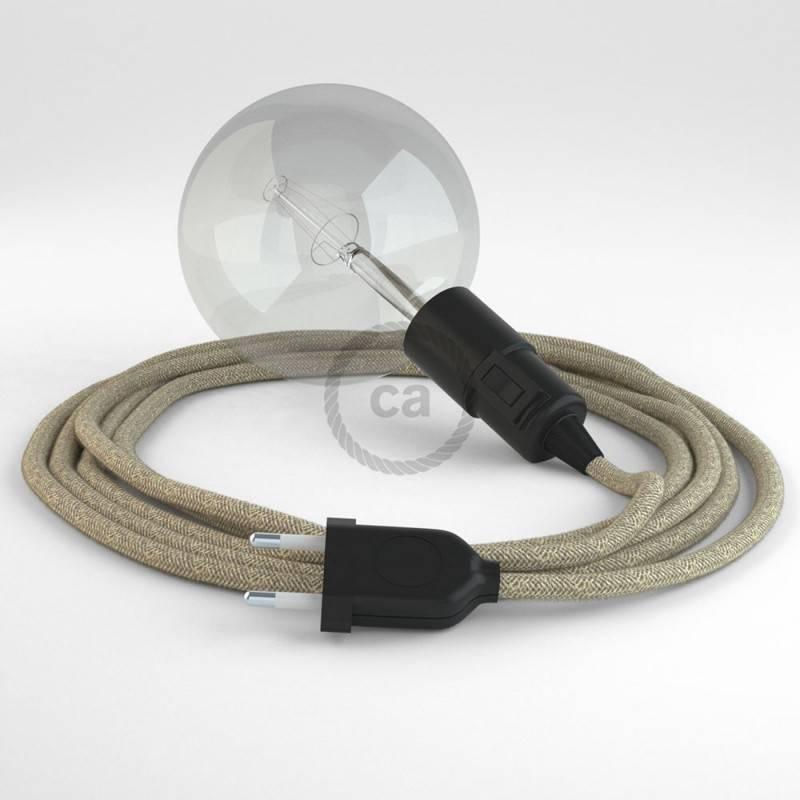 Kreieren sie ihre Snake Leuchte mit dem RN01 Neutral Natürlichem Leinen und erleuchten sie ihre Umgebung.
