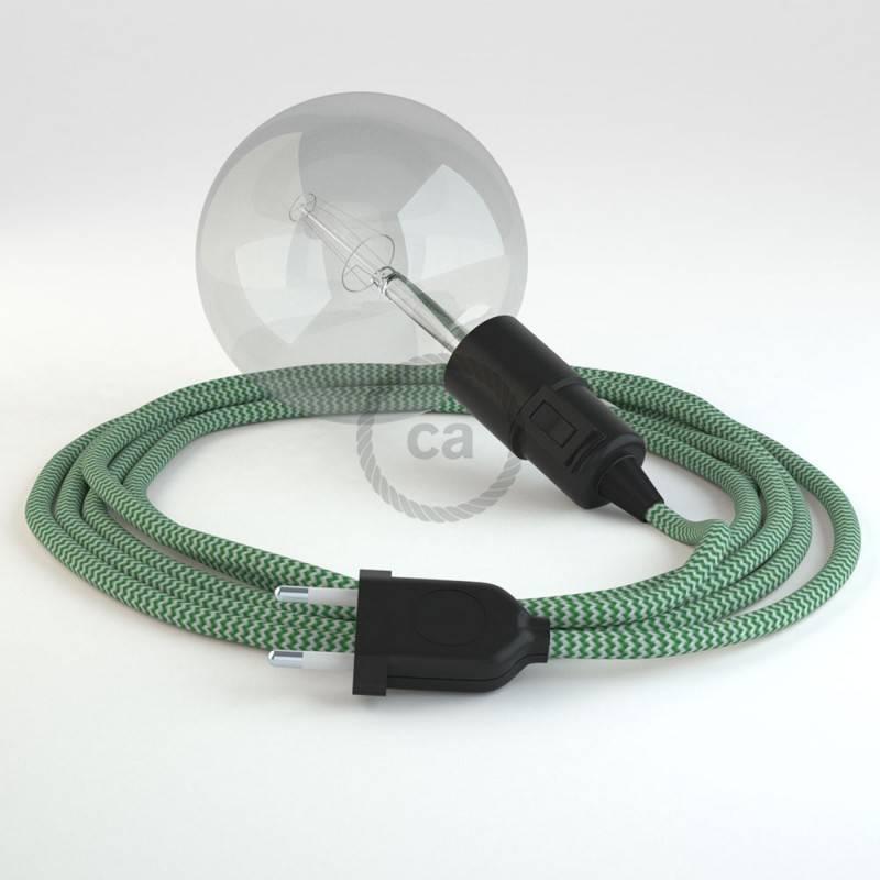 Kreieren sie ihre Snake Leuchte mit dem RZ06 Zick Zack Grün und erleuchten sie ihre Umgebung.