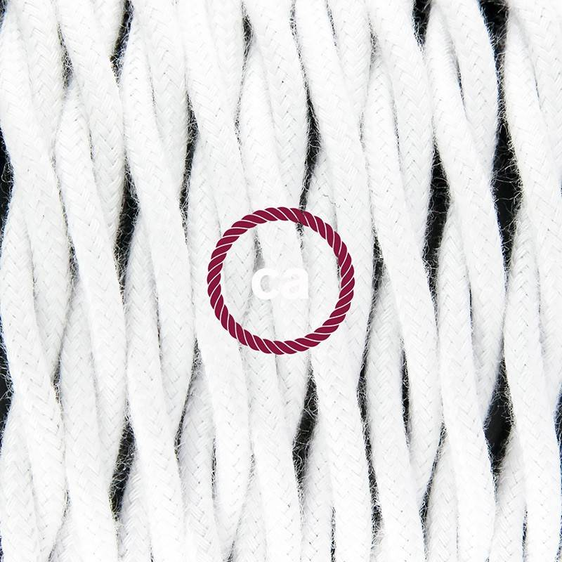 Kreieren sie ihre Snake Leuchte mit dem TC01 Weiß Baumwolle und erleuchten sie ihre Umgebung.