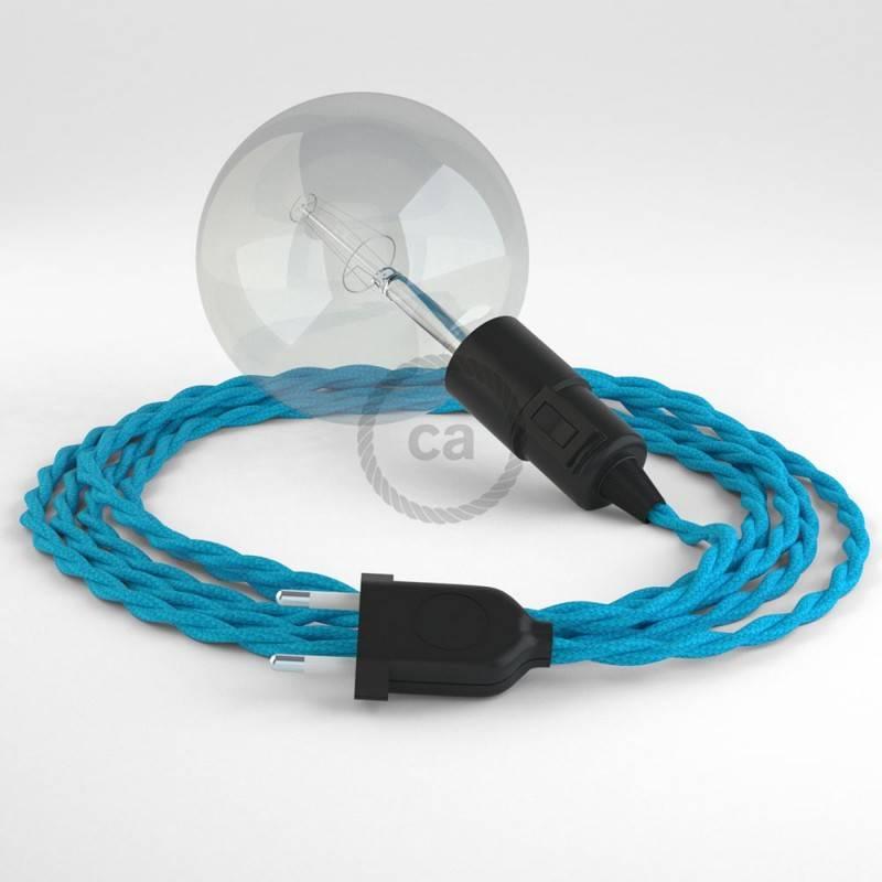 Kreieren sie ihre Snake Leuchte mit dem TM11 Türkis Seideneffekt und erleuchten sie ihre Umgebung.