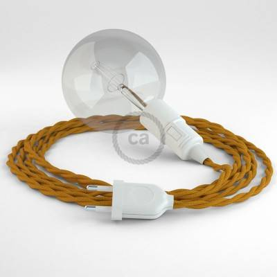 Kreieren sie ihre Snake Leuchte mit dem TM25 Senf Seideneffekt und erleuchten sie ihre Umgebung.