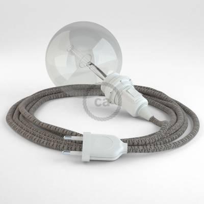 Kreieren sie ihre Snake Lampenschirm Leuchte mit dem RD64 Raute Antrazit und erleuchten sie ihre Umgebung.