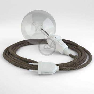 Kreieren sie ihre Snake Lampenschirm Leuchte mit dem RD73 Zick Zack Bark und erleuchten sie ihre Umgebung.