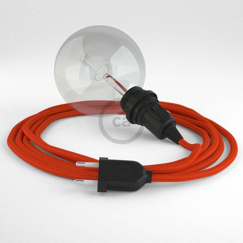 Kreieren sie ihre Snake Lampenschirm Leuchte mit dem RM15 Orange Seideneffekt und erleuchten sie ihre Umgebung.