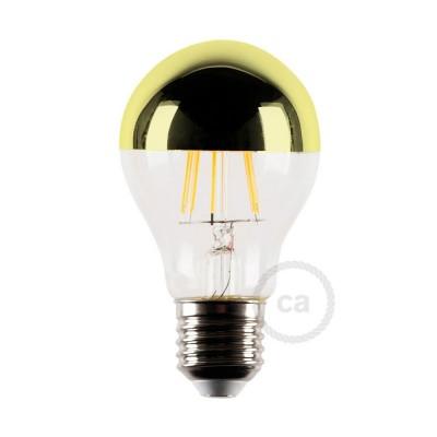 LED-Glühbirne Kugel gold 4W E27 2700K