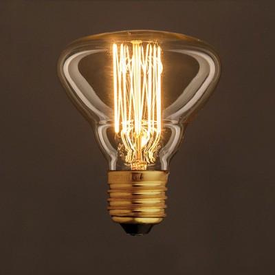 Vintage Glühbirne gold BR95 vertikaler Kohlefaden 25W E27 dimmbar 2000K