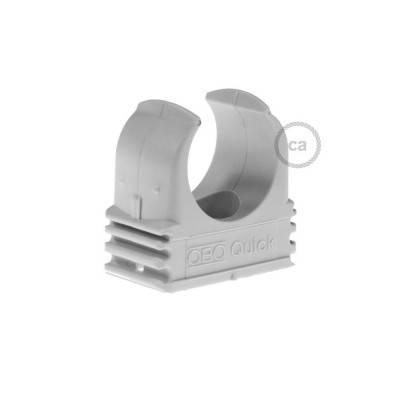 Kunststoff-Befestigungsclip, Durchmesser 16 mm, für Creative-Tube