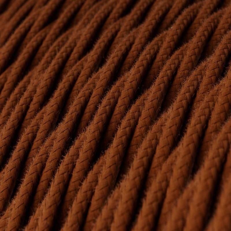 Textilkabel geflochten, damhirnsch Baumwolle, TC23