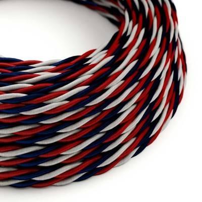 Textilkabel geflochten, USA Baumwolle, TZUSA