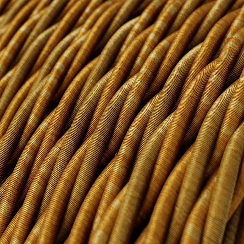 Textilkabel geflochten, Bordone mit Seideneffekt, TG03