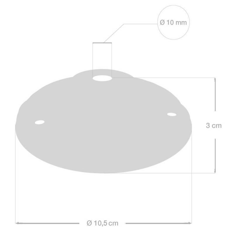 Lampenbaldachin Kit aus Porzellan