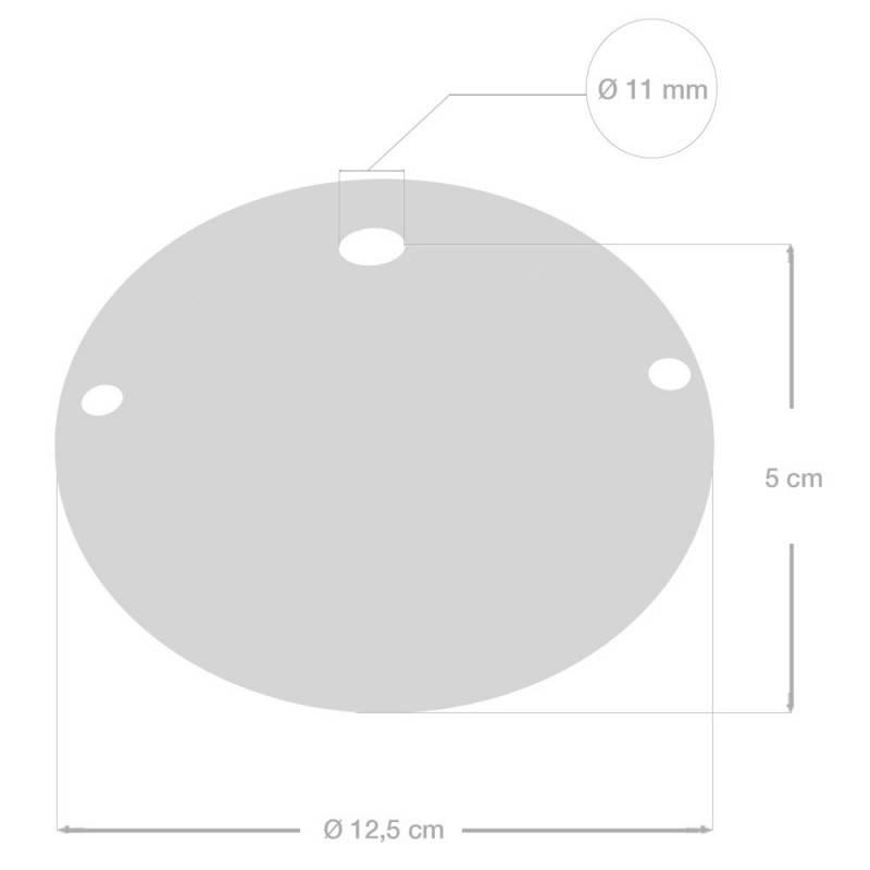 Einfacher Lampenbaldachin Kit aus Keramik