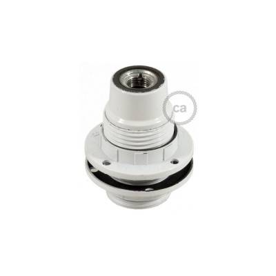 E14-Lampenfassungs-Kit aus Bakelit mit Doppelklemmring für Lampenschirme