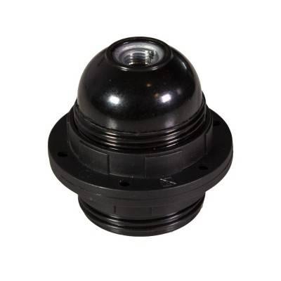 E27-Lampenfassungs-Kit aus Bakelit mit Doppelklemmring für Lampenschirme