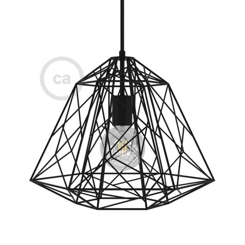 Lampenschirmkäfig Apollo XL aus Metall mit E27-Fassung