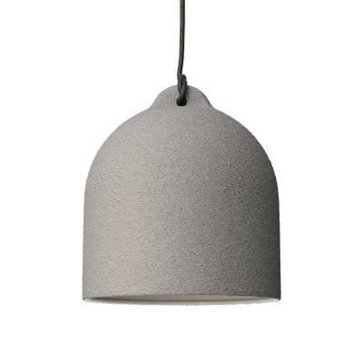Glockenförmiger Lampenschirm M aus Keramik zum Aufhängen - Made in Italy