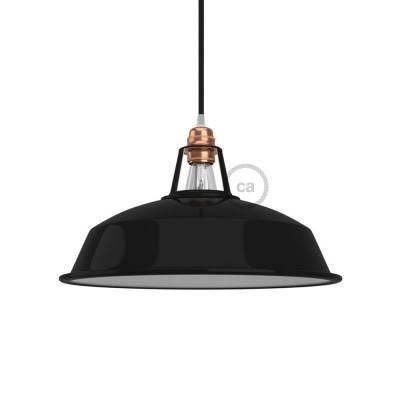 Lampenschirm Harbour aus lackiertem Metall mit E27-Anschluss, 30 cm Durchmesser