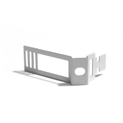 Verstellbare Kabelklemme aus weißem Metall für Creative-Tube