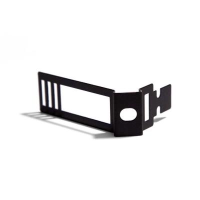 Verstellbare Kabelklemme aus schwarzem Metall für Creative-Tube