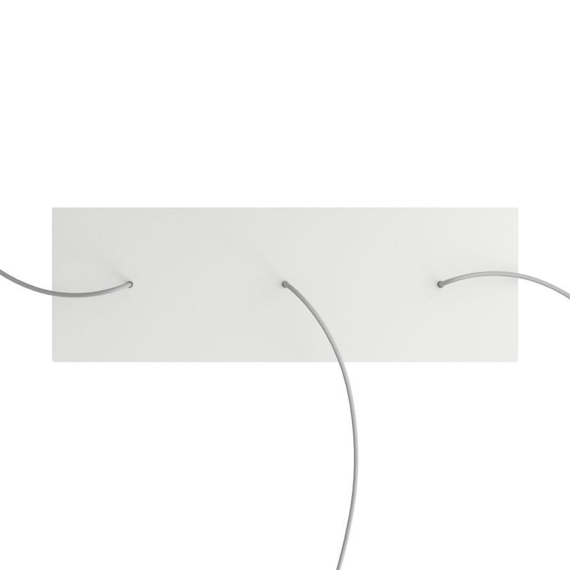 lampen baldachin rechteckig 4 loch