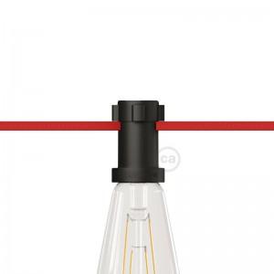 E27 thermoplastische Fassung schwarz für Lumet Lichterketten
