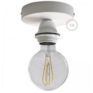 Fermaluce Metal, mit E27-Gewinde-Lampenfassung, Wand- und Deckenleuchte aus Metall