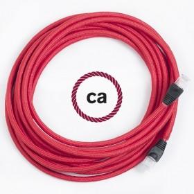 Ein neues Produkt ... LAN-Ethernet Kabel mit Textil überzogen!