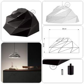 Der neue Nuvola Lampenschirm von Creative-Cables!