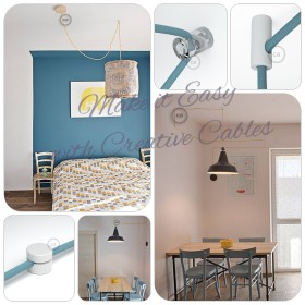 Be Creative - Wand und Deckenpins