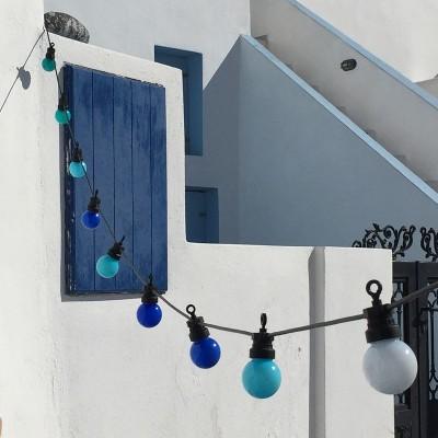La Guinguette: sofort verwendbaren Lichterketten für den Außenbereich