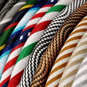 Textilkabel in allen Farben - Passt nicht gibts nicht